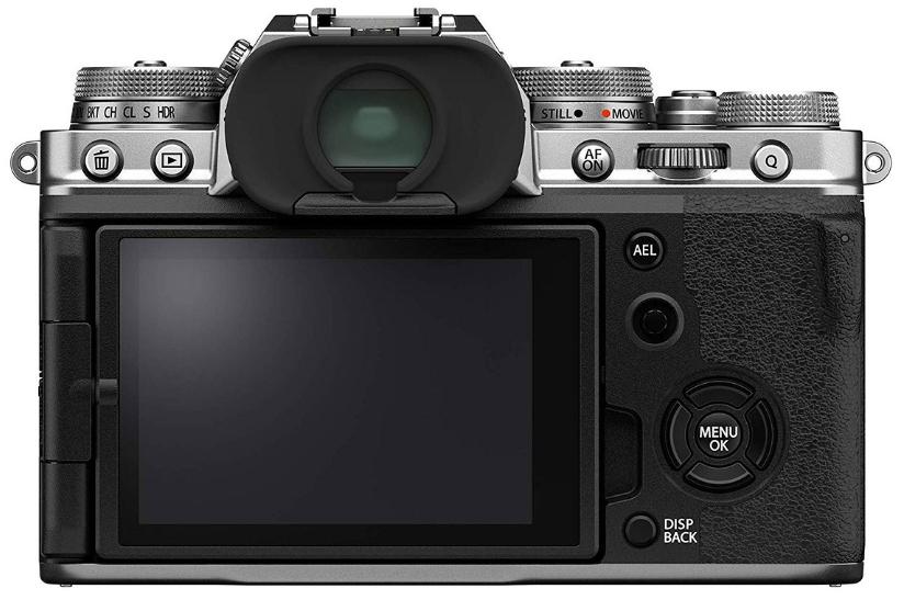 Беззеркальные фотоаппараты с видоискателем