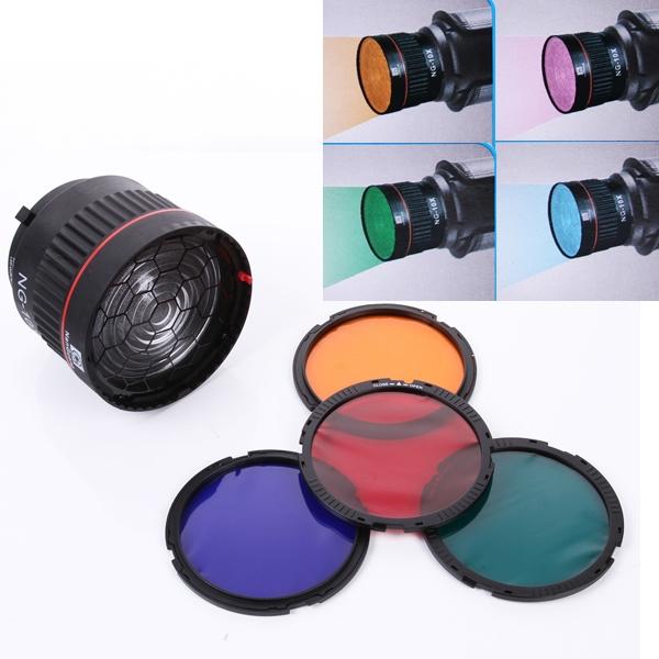 Fotokvant NVF-6856 линза Френеля с цветными фильтрами