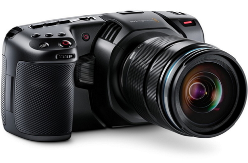 Blackmagic Design объявляет о выпуске Pocket Cinema Camera 4K