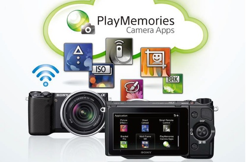 PlayMemories Camera Apps от Sony: просто загрузите приложение на свою фотокамеру — и творите!