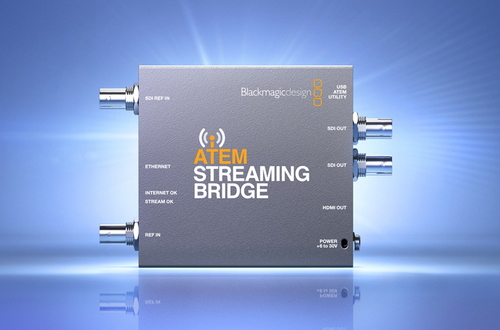 Blackmagic Design представила конвертер ATEM Streaming Bridge