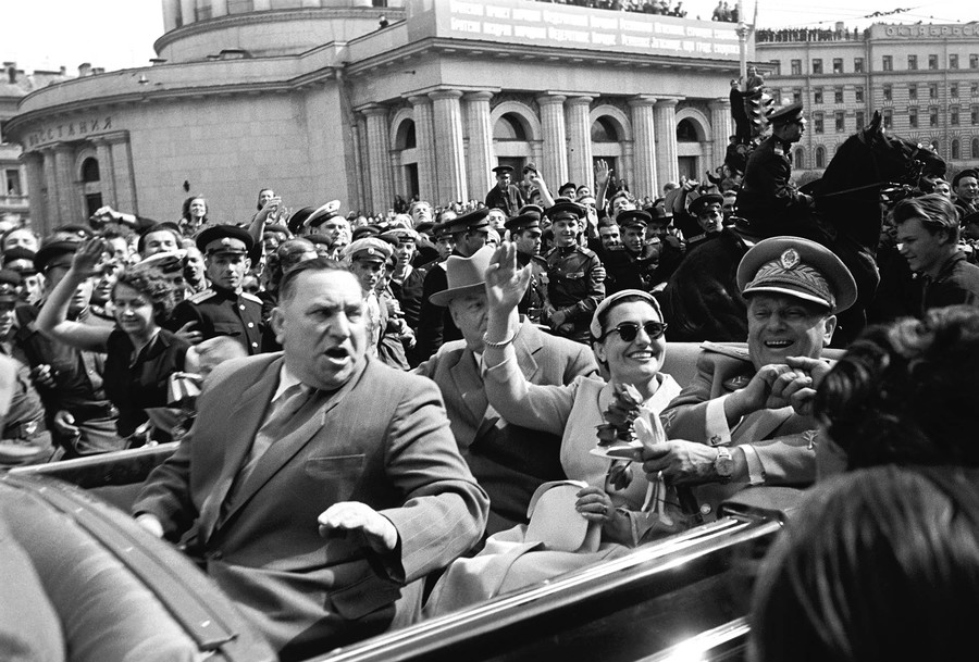 Photo Pavel Markin_Vizit Iosipa Broz Tito_07-06-1956