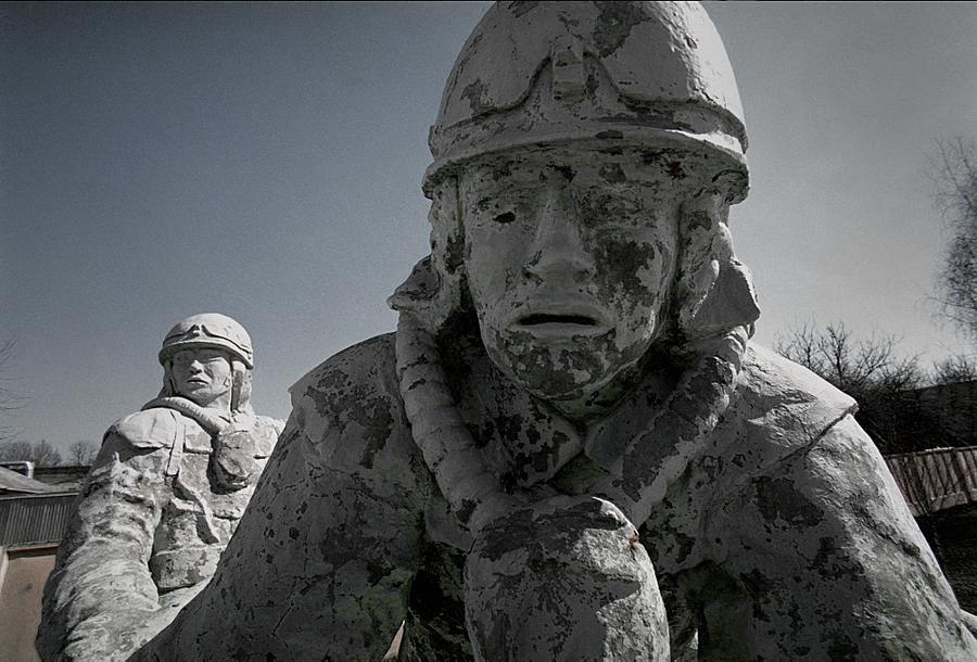 Фото первых пожарных чернобыля